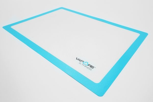 "9.1"" Diameter Vapors & Things Round Silicone Mat Silicone Mat"