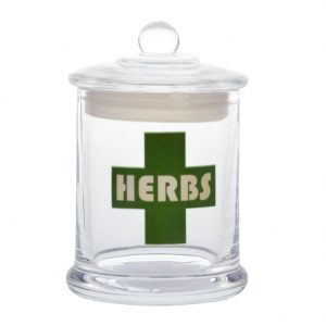 jar herbs vapors and things.