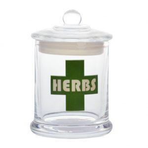 jar herbs vapors and things.